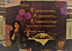 Revolutionary approach to Biopsychology @Universitas Kristen Maranatha (2016)
